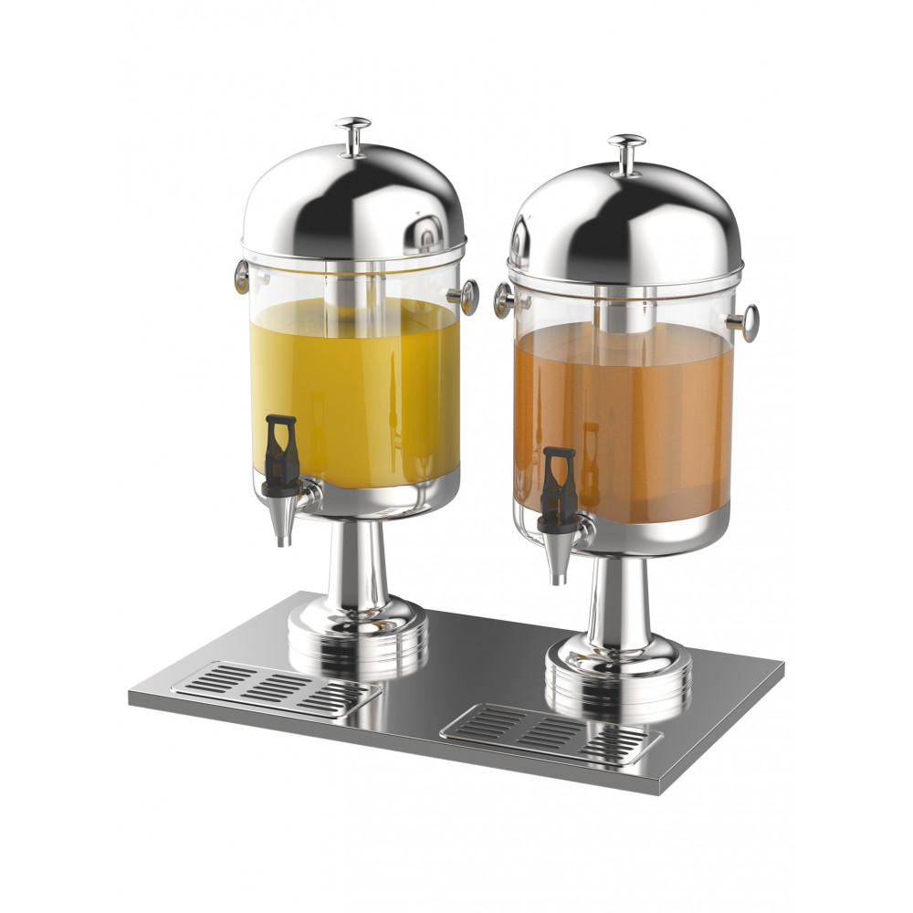 Sapdispenser - 2 x 8 Liter - Incl. koelelement - Promoline