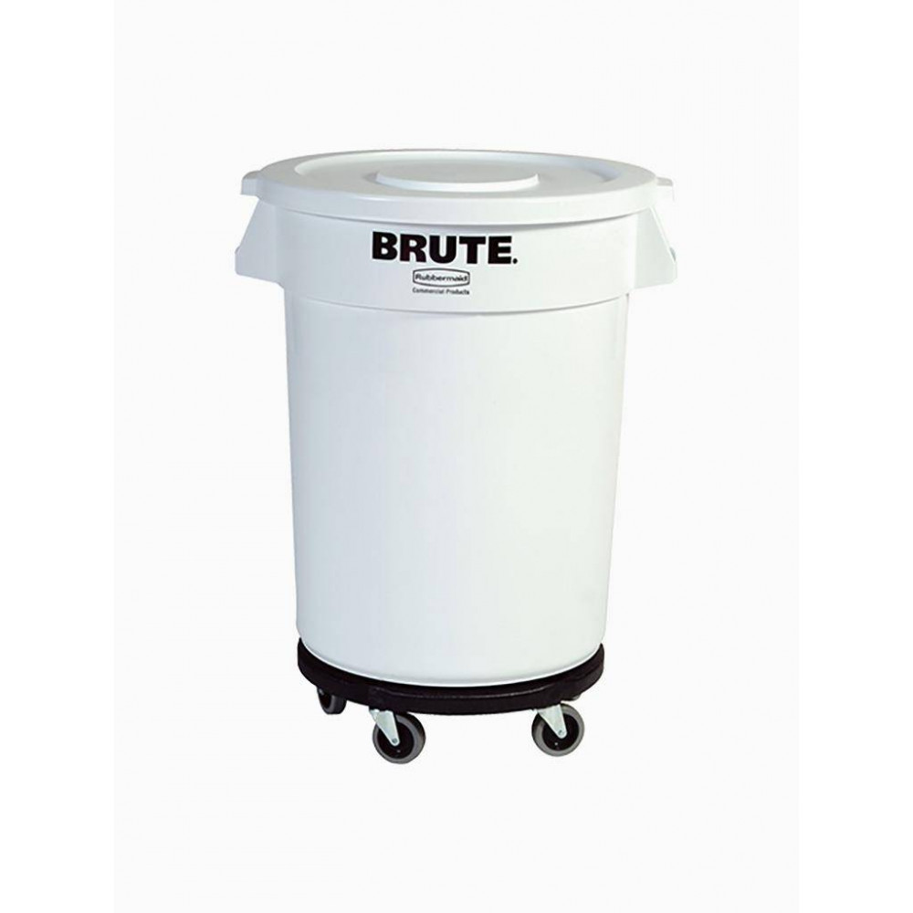 Rubbermaid voedselcontainer (wit) 121 L