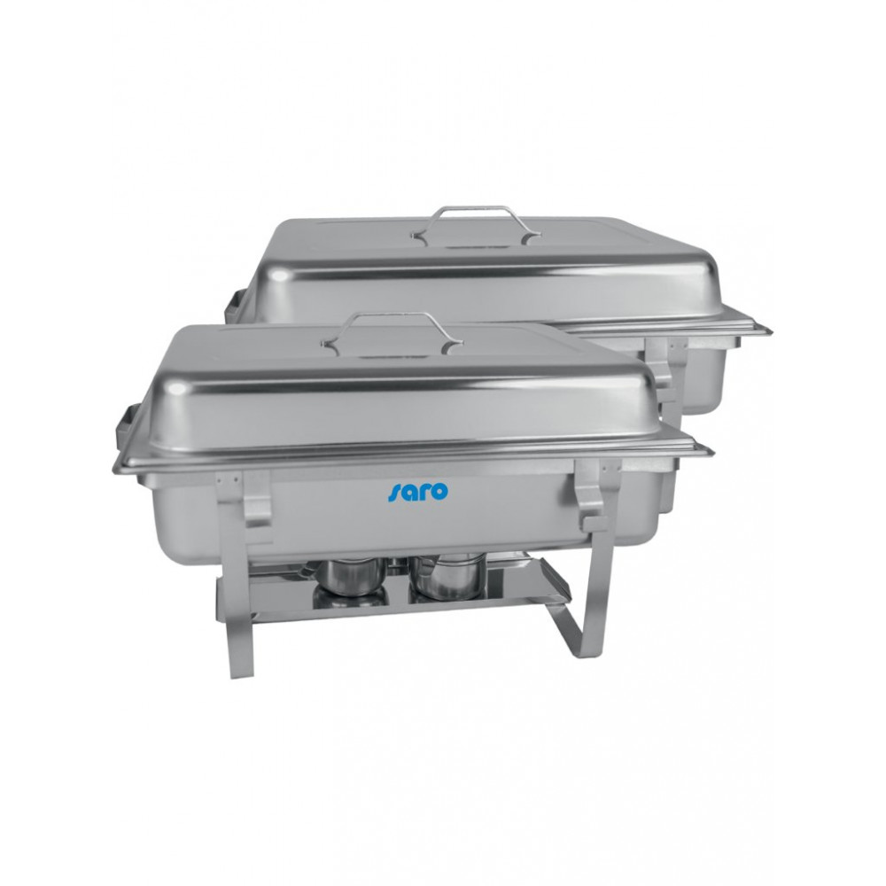 Chafing dish - Twin-Pack - 1/1GN - Saro - 213-1018