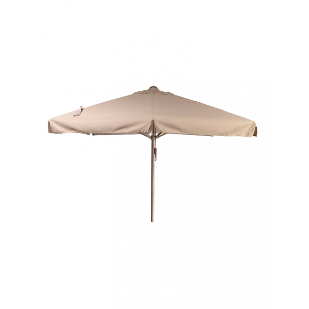 Horeca parasol - 500x500 cm - Ecru - Karin