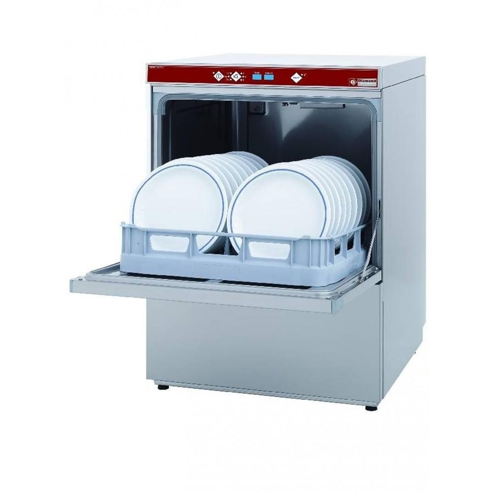 Horeca vaatwasser met doorlopende ontharder - 50 x 50 mand - Best wash - DFS7/6-AC - Diamond