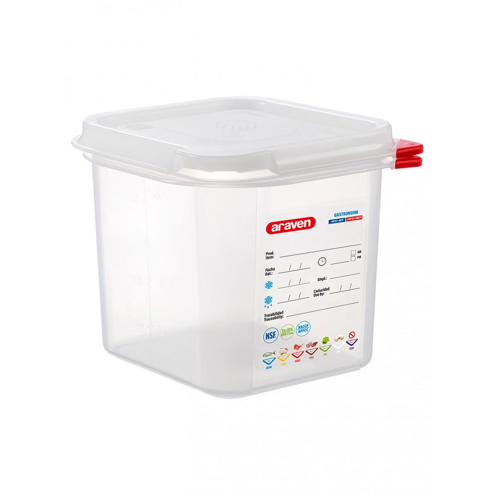 Voedseldoos - 1/6 GN - 150 mm diep - Polypropyleen - Promoline