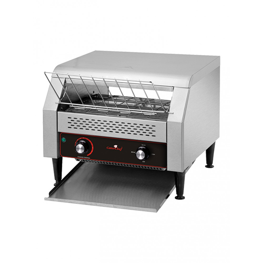 Conveyor Toaster - T300 - RVS - CaterChef - 688300