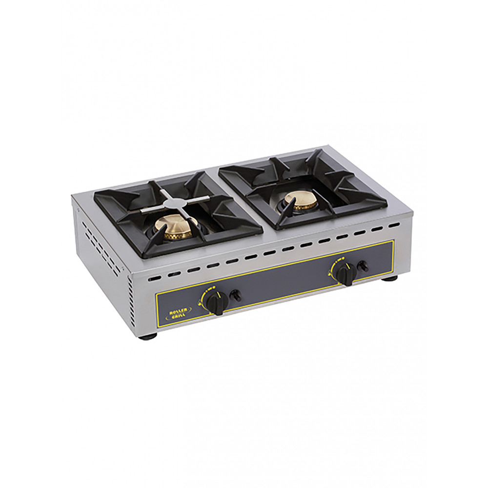 Kooktoestel - H 19.5 x 51 x 69 CM - 22 KG - Propaangas - 12 CM - RVS - Gas - Roller Grill - 304151
