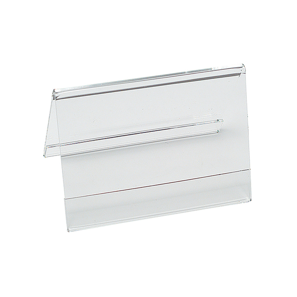 Menu Standaard - H 7.5 x 12 x 6 CM - 0.055 KG - plexiglas - Transparant - 880001