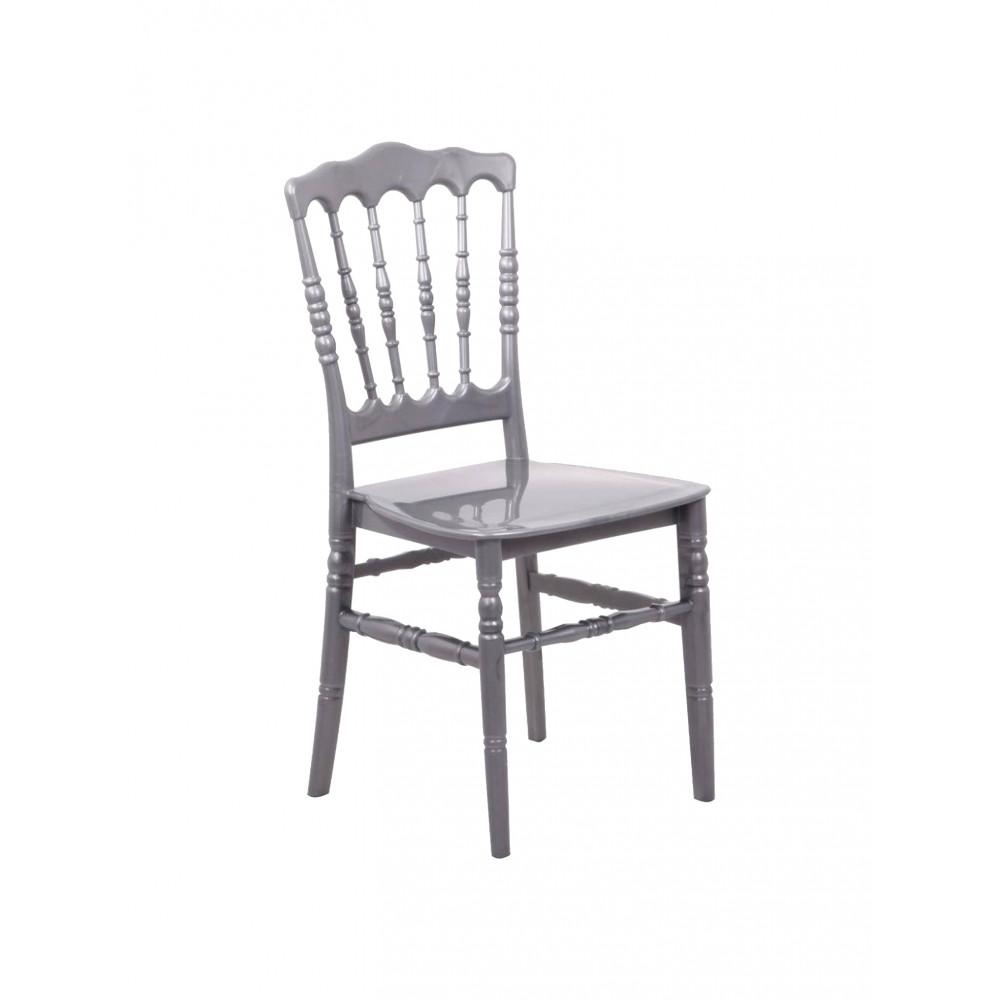 Horeca stoel - Napoleon - Zilver - Promoline
