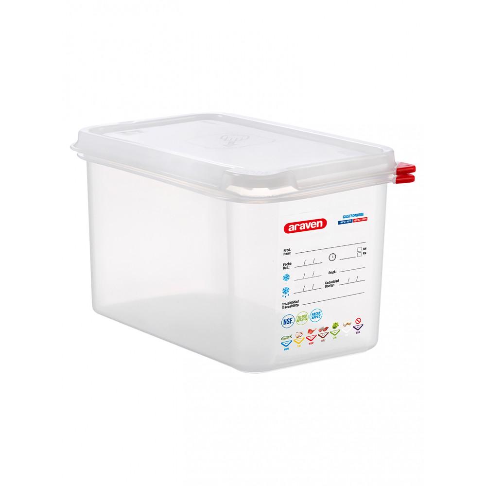 Voedseldoos - 1/4 GN - 150 mm diep - Polypropyleen - Promoline