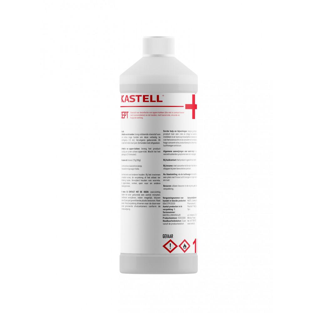 Desinfectie Hand & Oppervlakte - 1 Liter - 72% alcohol - 73715