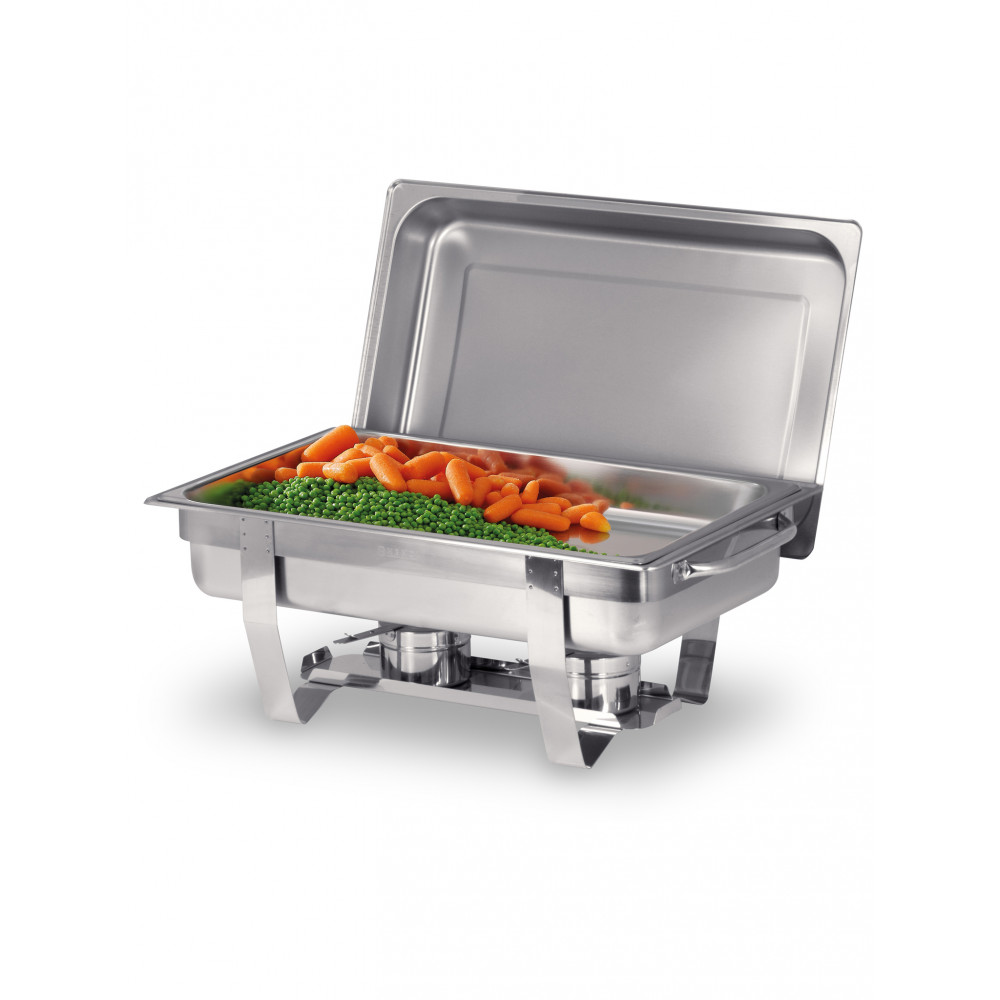 Chafing Dish Set - RVS 18 0 RVS - H 31.5 X 38.5 X 58.5 CM - Hendi - 471050