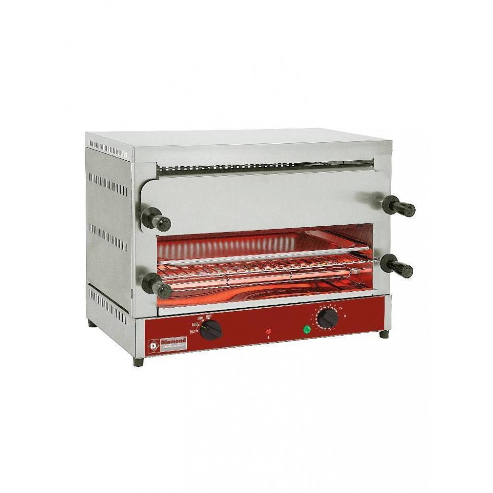 Elektrische toaster - 2 Etages - GN 1/1 - MD22/R-N - Diamond