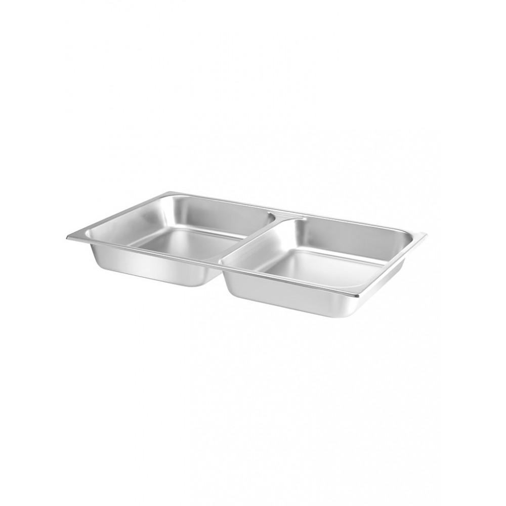 Voedselpan - GN 1/1 - 2 Compartimenten - Hendi - 470190