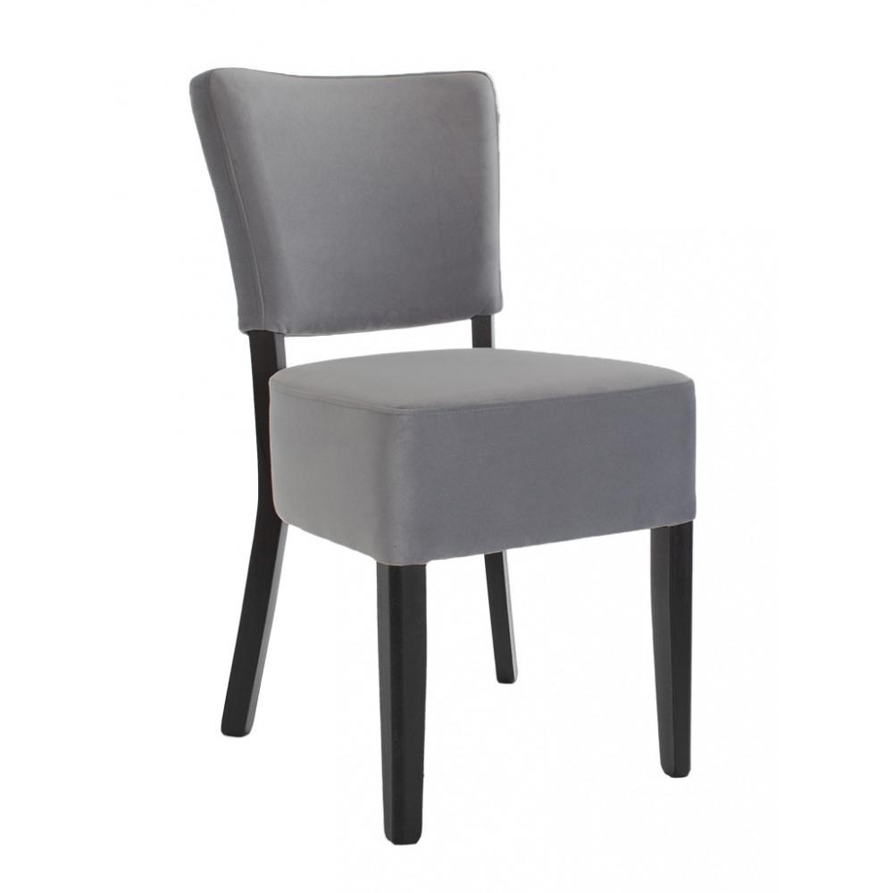Horeca stoel - Rome - Velvet - Donkergrijs
