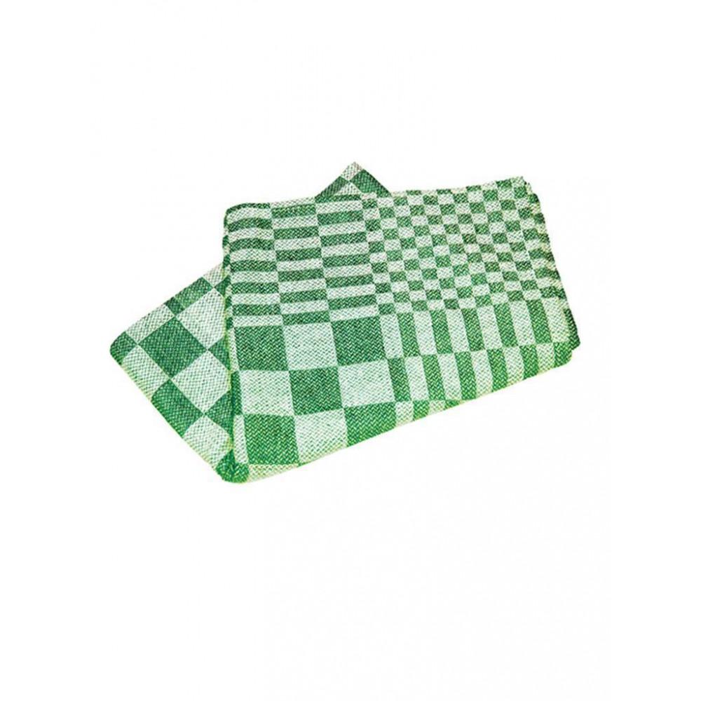 Keuken(Thee)Doek - 60 CM - 0.095 KG - 60 CM - Katoen - Groen - 878012