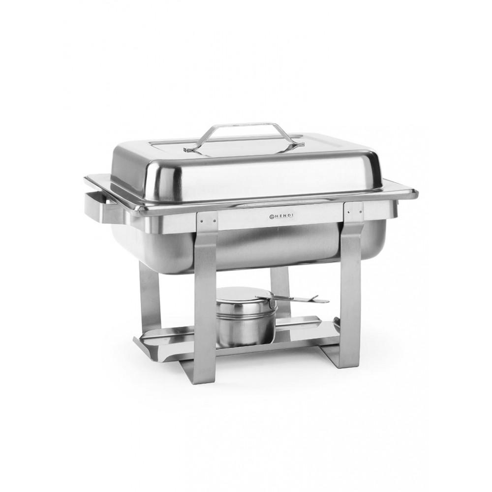 Chafing dish - 1/2 GN - Economic - 4.5 liter - RVS - Hendi - 475201
