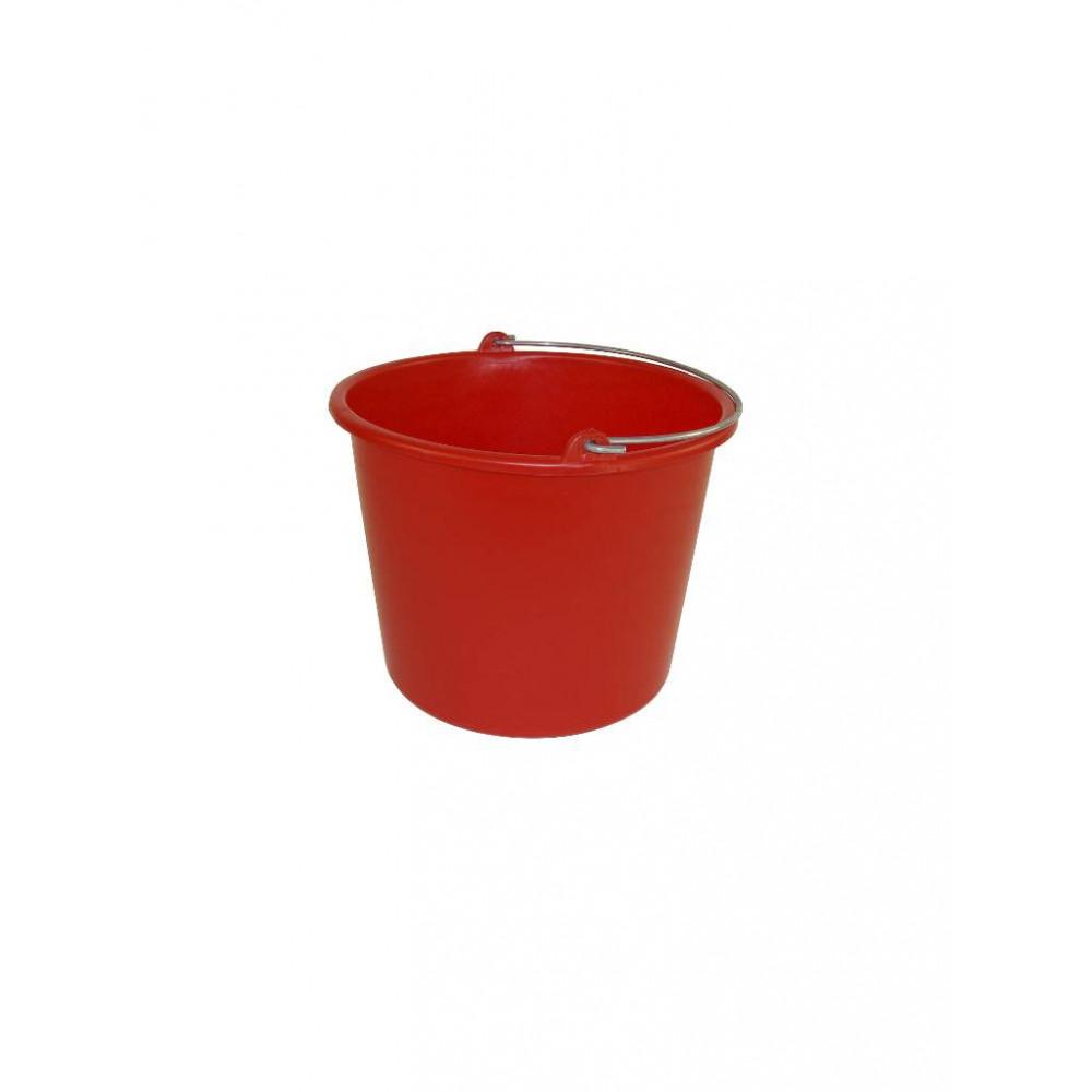 Emmer - Kunststof - 12 liter - Rood - 651054