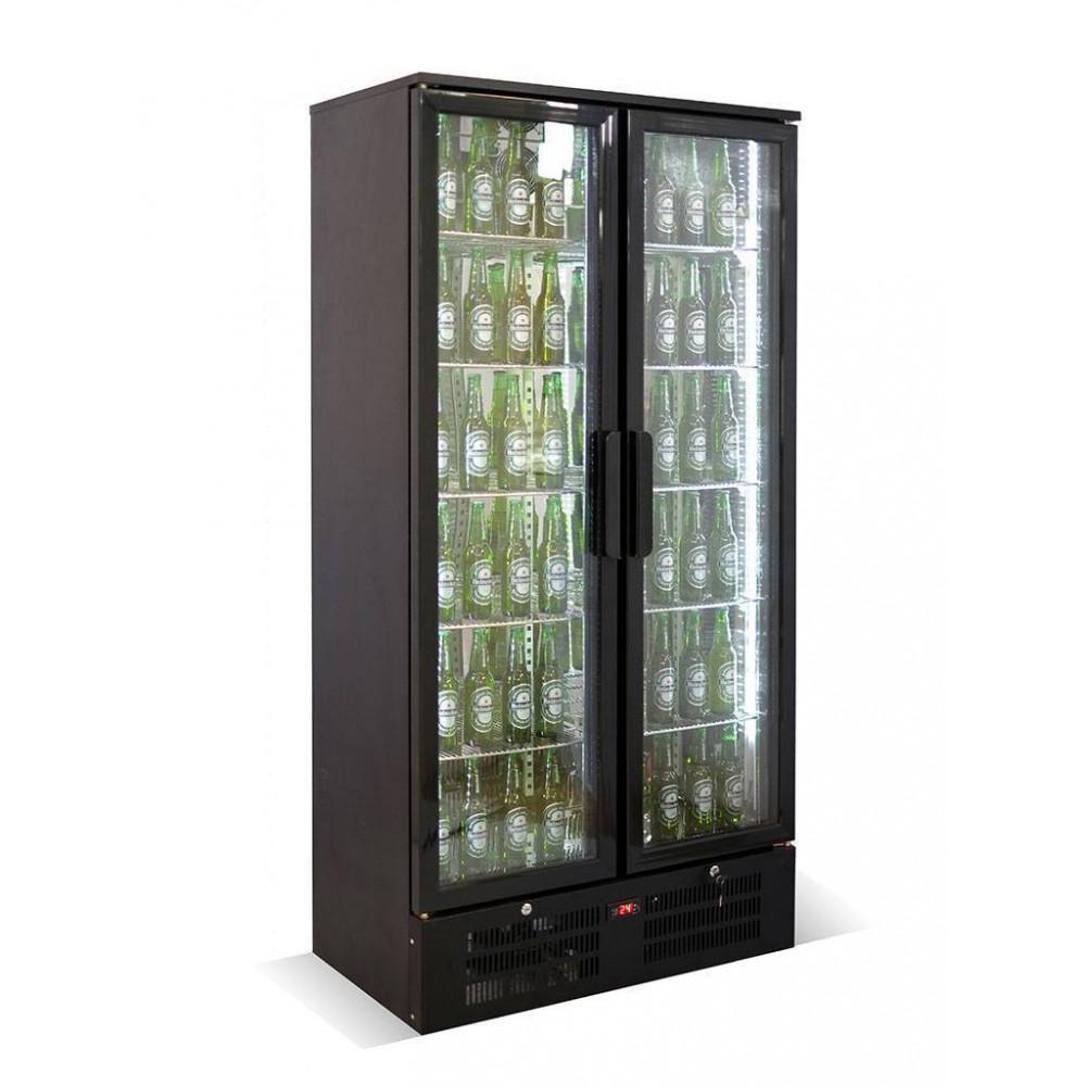 Promoline - 458 liter - 2 deurs | Koelkast glazen deur