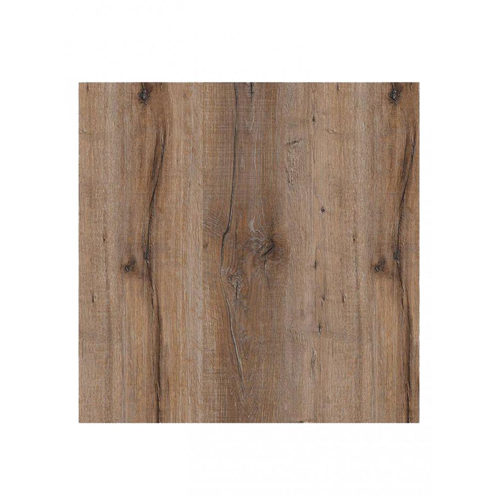 Tafelblad - 70 x 70 cm - Kasteel Eiken Donker - Vierkant - Promoline
