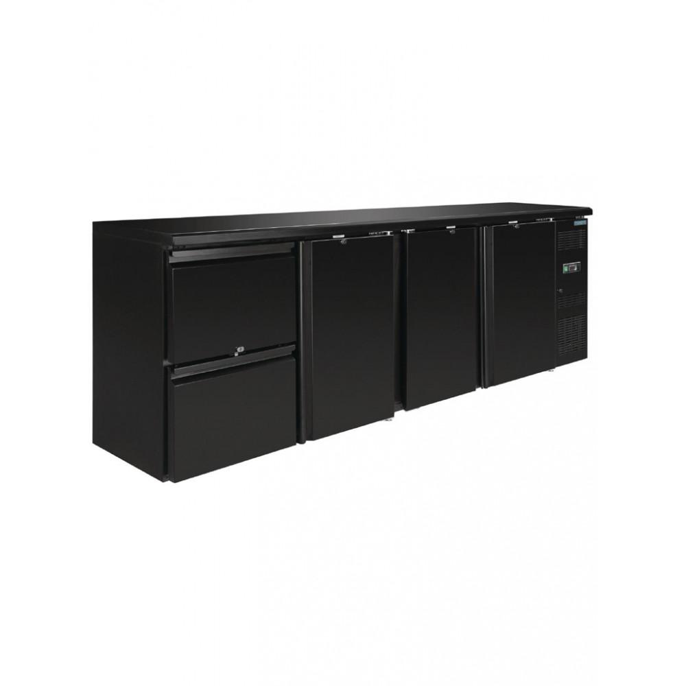 Polar werkbank koeling 3 deuren en 2 laden - GL188