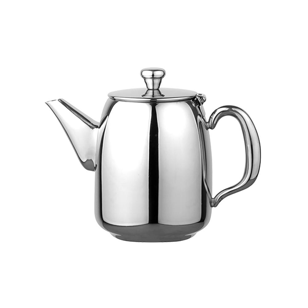 Koffiepot - H 12 CM - 0.305 KG - Ø9 CM - RVS 18/10 - 0.35 Liter - 635007