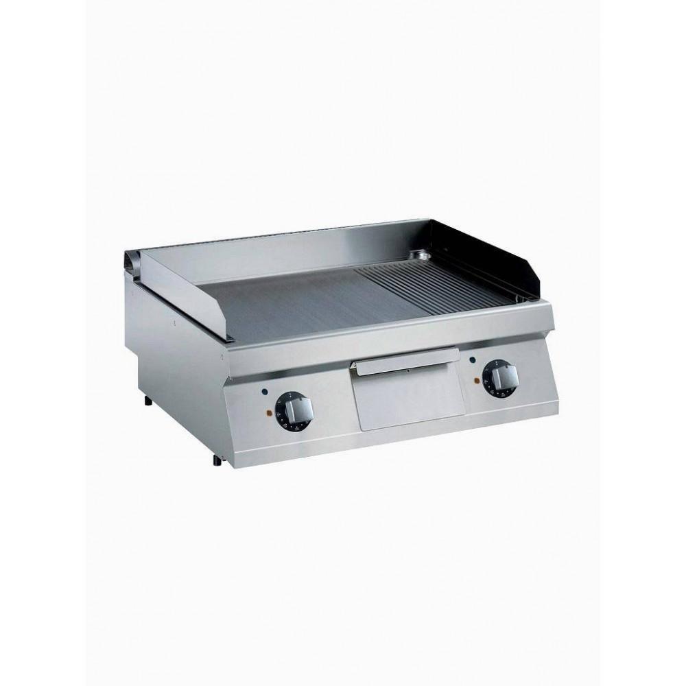 Elektrische braadplaat - Verchroomd - 1700 Line - E17/PLCD8T-N - Diamond