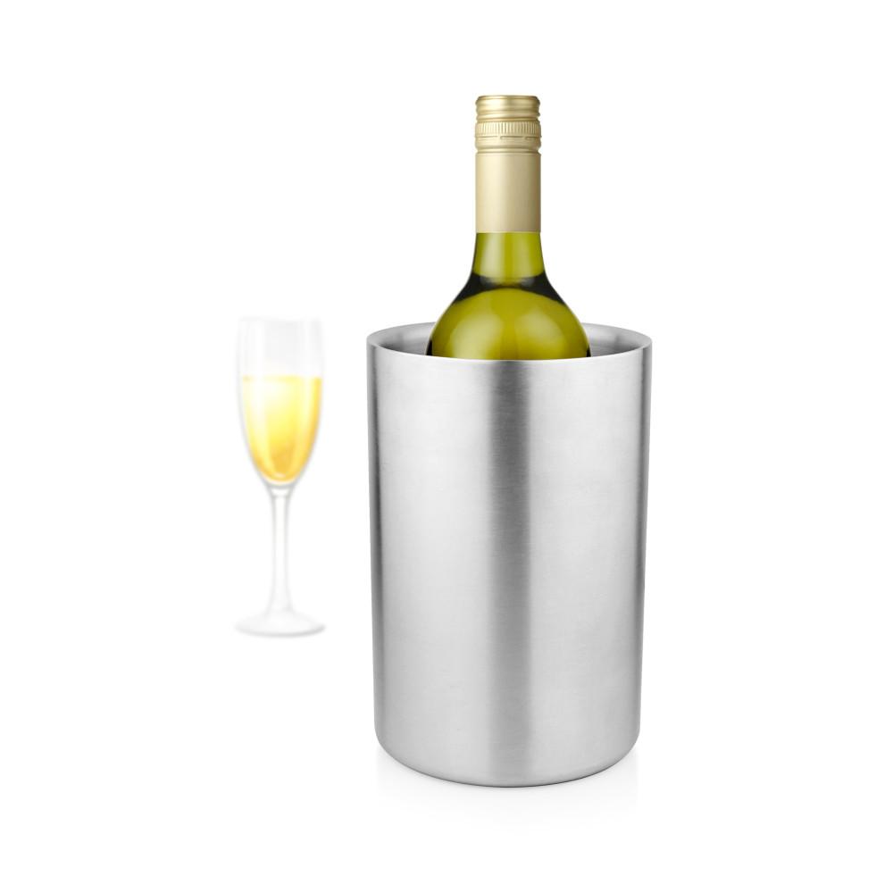 Wijnkoeler - 12 x 20 CM - RVS - Promoline