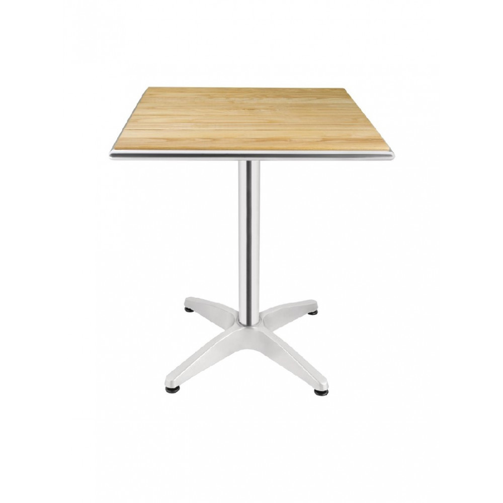 Bolero bistrotafel essenhout vierkant 60 cm| Horeca tafel