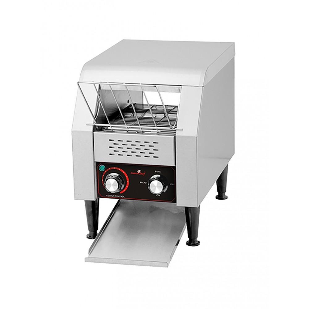 Conveyor Toaster - H 39.1 x 28.8 x 54 CM - 12 KG - 220 - 240 V - 1300 W - RVS - Caterchef