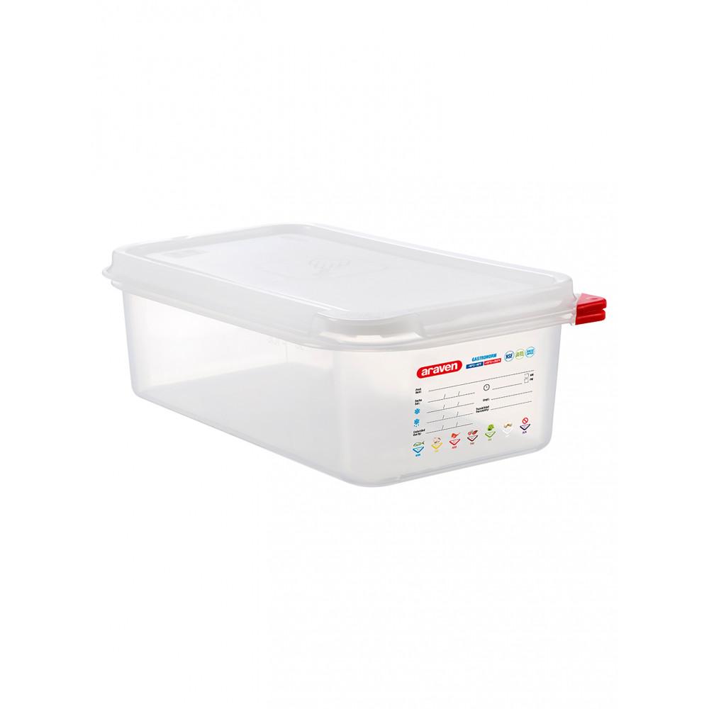 Voedseldoos - 1/3 GN - 100 mm diep - Polypropyleen - Promoline