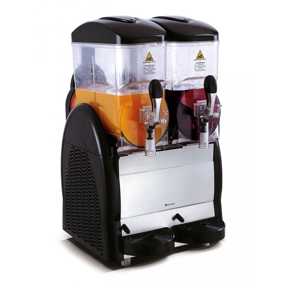 Slush machine - 2 x 12 liter - Hendi - 274224