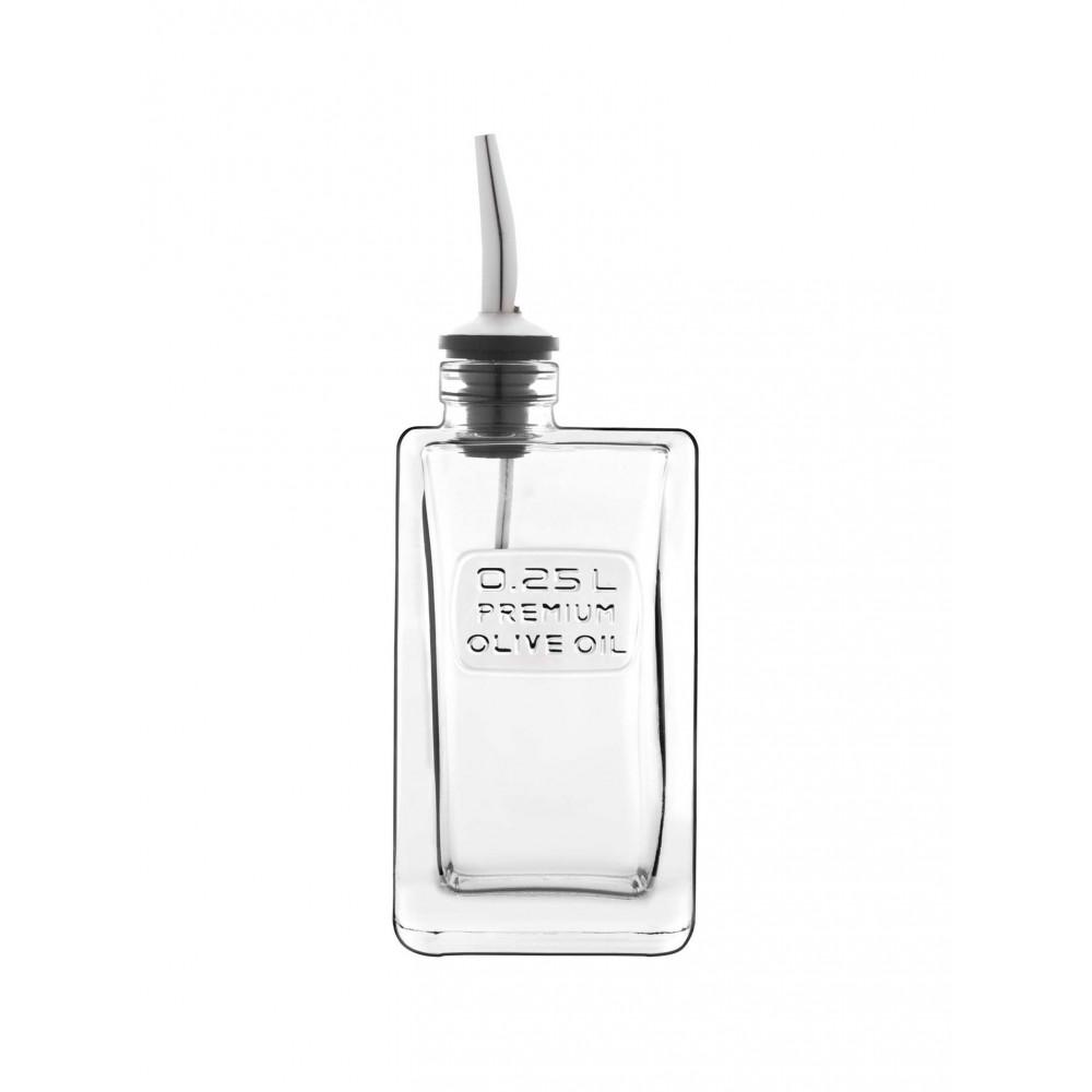 Oliefles - 0.25 Liter - Luigi Bormioli - Optima - 518589