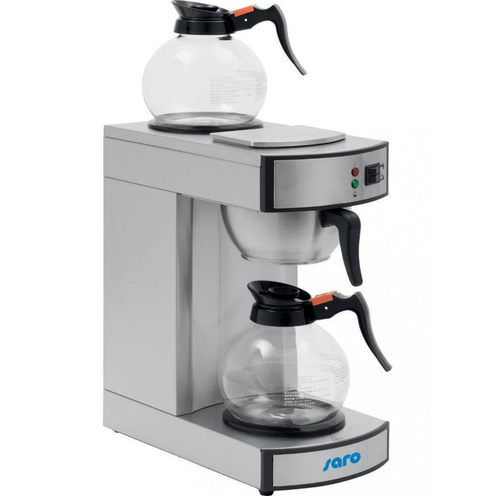 Koffiezetapparaat - 2 Glazen kannen - Saro - 317-2080