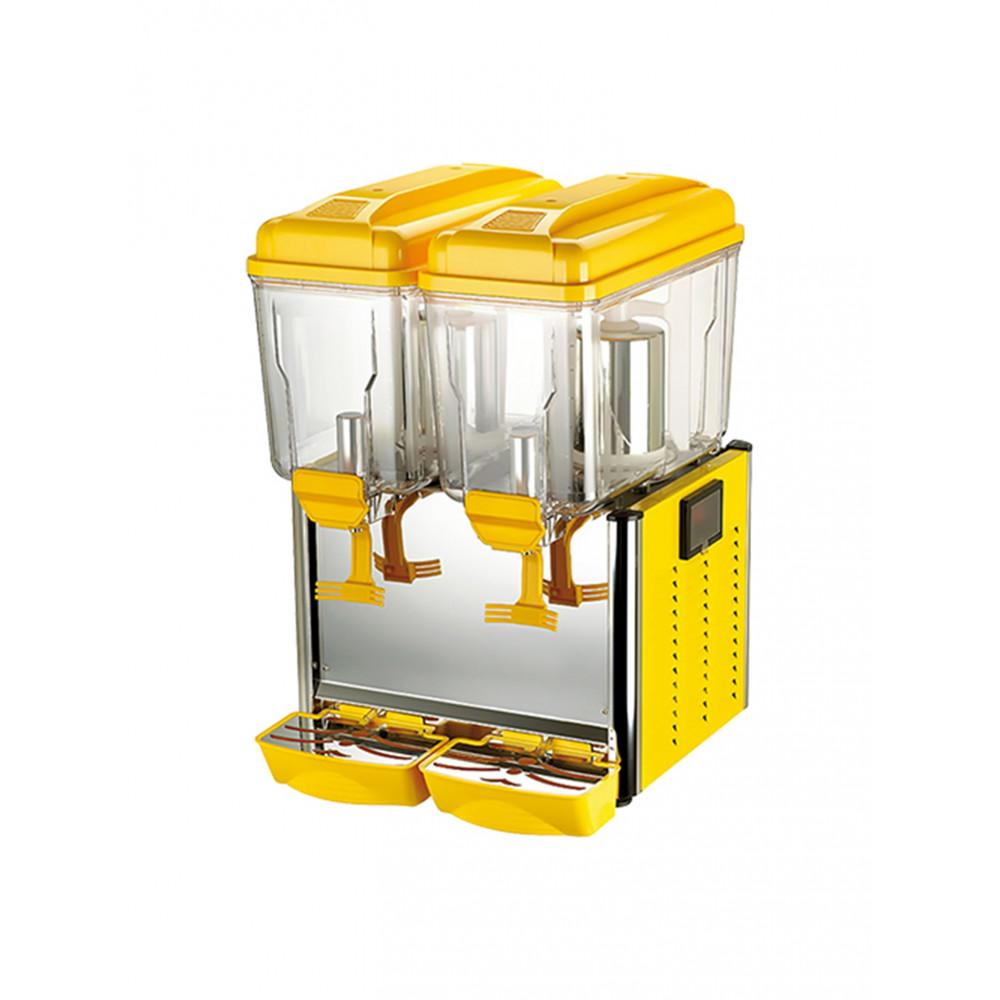 Drankendispenser - H 64 x 43 x 43 CM - 28 KG - 220 - 240 V - 370 W - Statische - R290A - Geel - 12 Liter - +3°C / +8°C - CaterCool - 688152