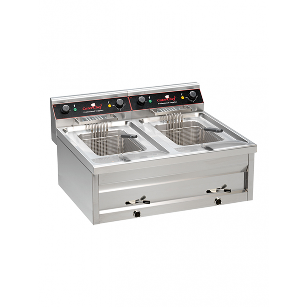 Friteuse - 2 X 12L - CaterChef - 508124