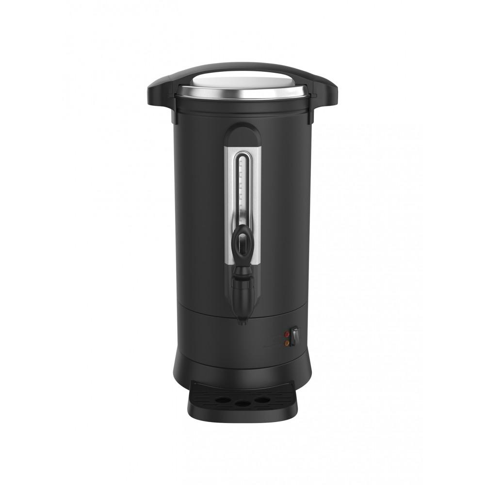 Koffie Percolator - 6 Liter - Zwart - Pro - Dubbelwandig - Promoline