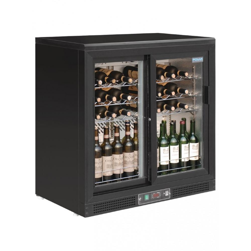 Wijnkoelkast - Schuifdeuren - Polar - GH130