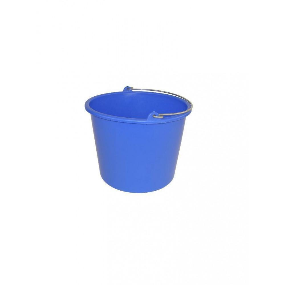 Emmer - Kunststof - 12 liter - Blauw - 651052