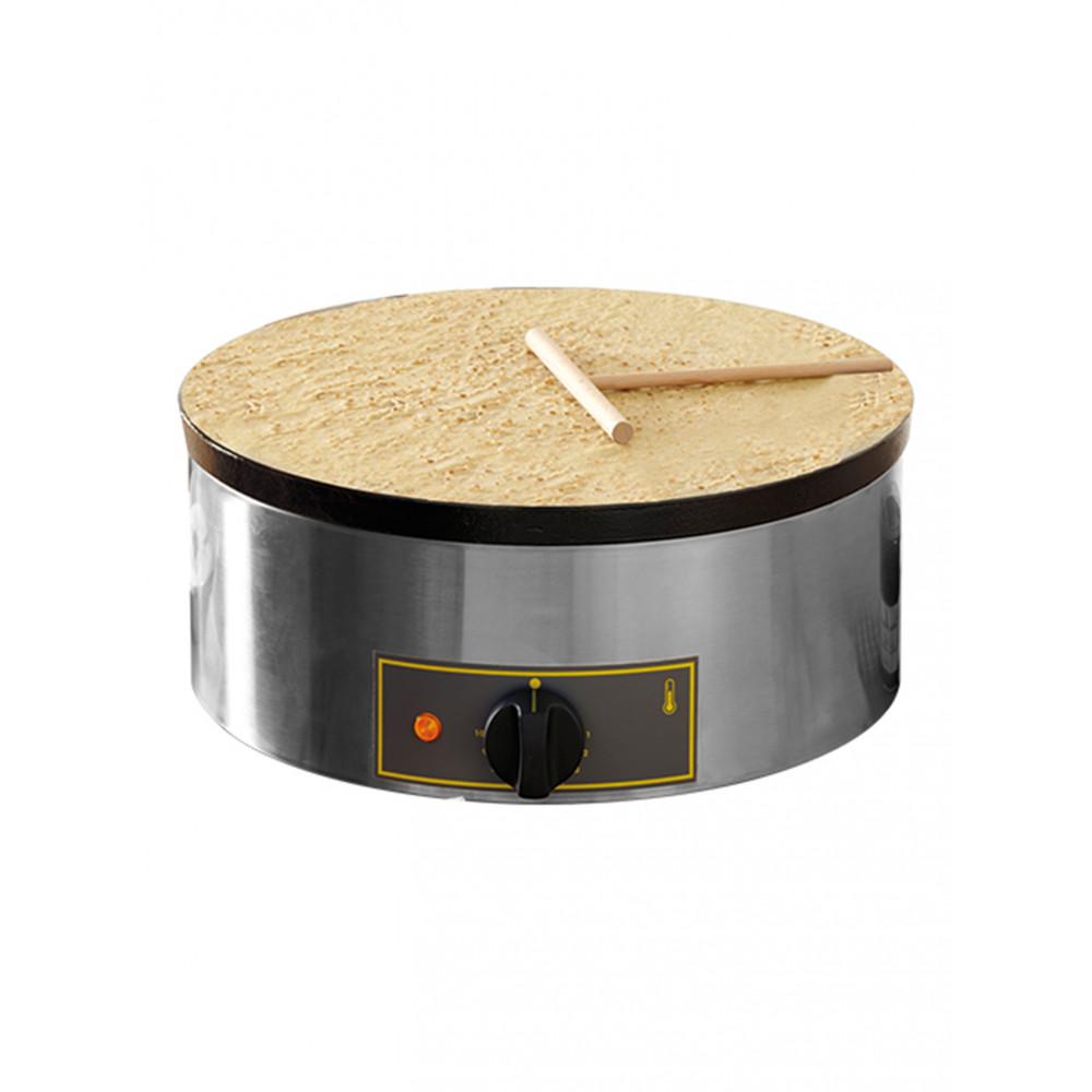 Crëpe Bakapparaat - H 19 x 40 CM - 14 KG - Ø40 CM - 220-240 V - 3600 W - Geëmailleerd - Roller Grill - 304025