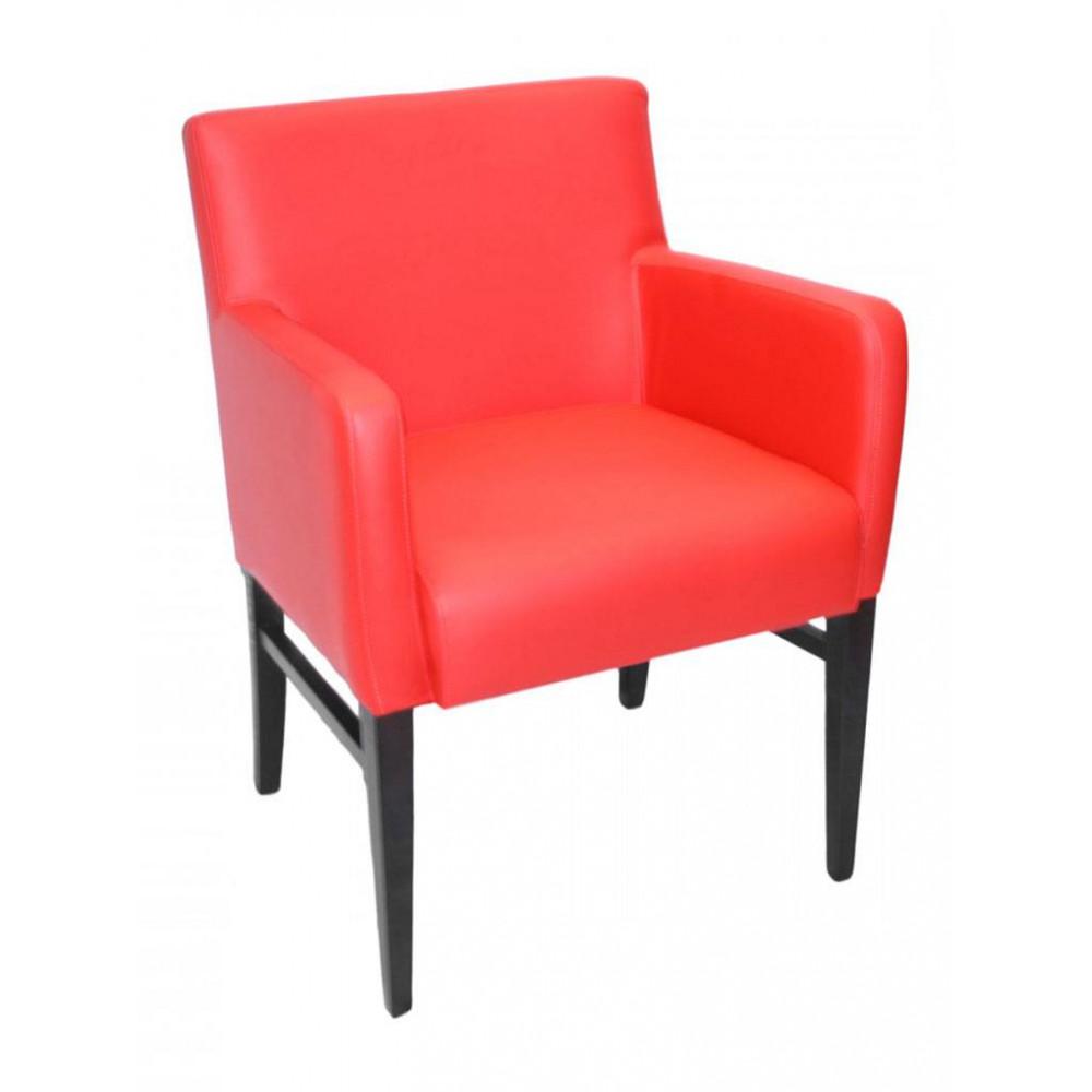 Horeca stoel - Andalusia - Rood - Armleuning - Promoline