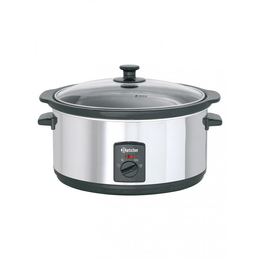 Slowcooker - 6.5 Liter - Aluminium - Bartscher - A100265