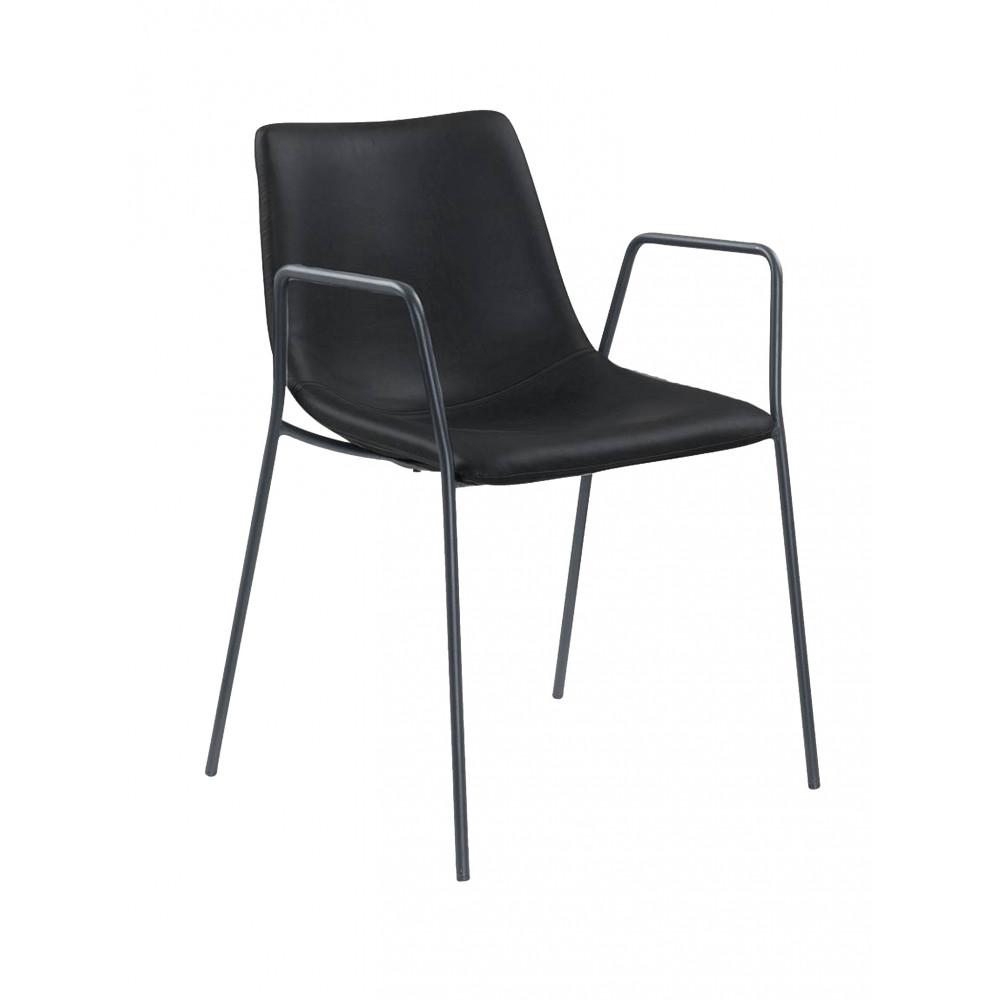 Horeca stoel - Denver - Zwart - Staal