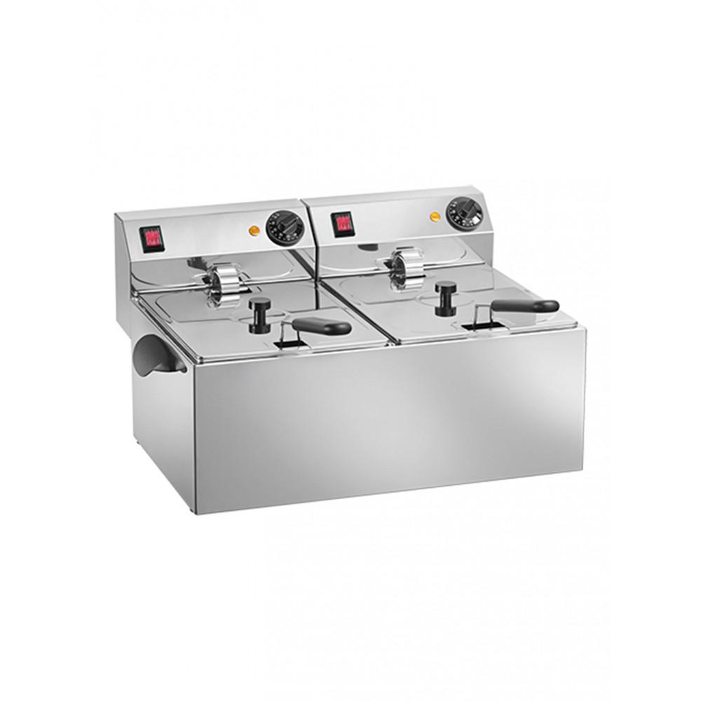 Titanium - 2 x 8 liter - 508128 | Horeca friteuse