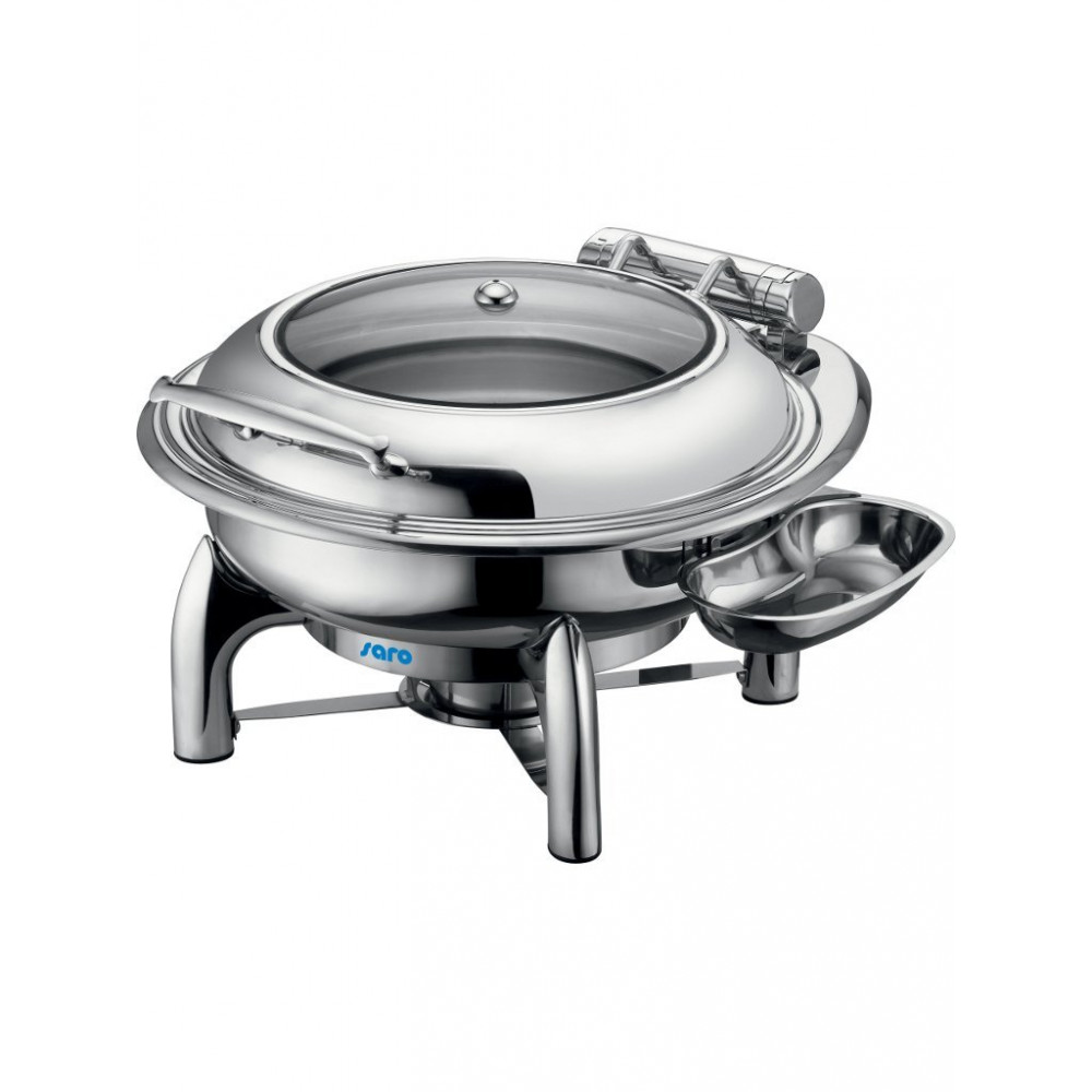 Chafing dish - Rond - Zelfsluitende Deksel - 6 Liter - Saro - 213-1210