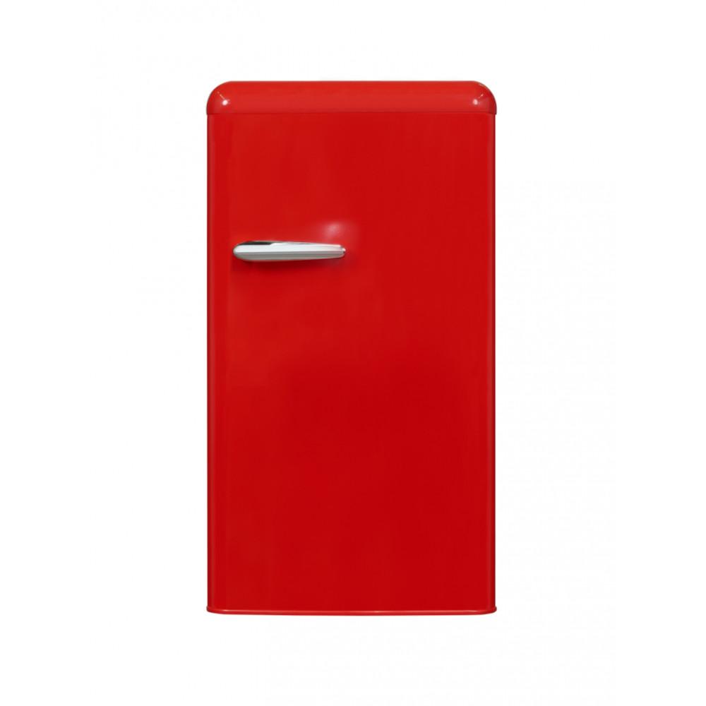 Koelkast - 94 Liter - 1 deurs - Rood - Exquisit - RKS100-V-H-160FR