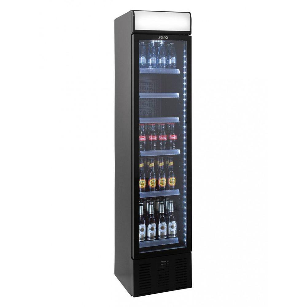 Displaykoeler - 130 Liter - 1 Deurs - Saro - 325-2150