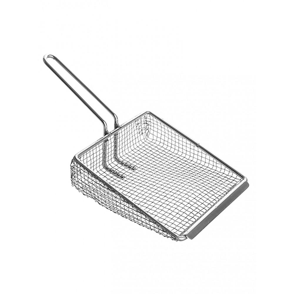 Patat/Frites-Schep - 20 x 17 CM - 0.24 KG - 40 CM - RVS - 894015