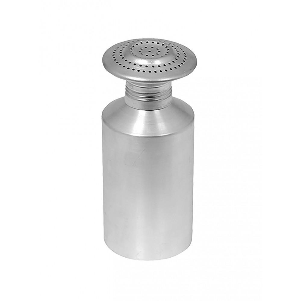 Zoutstrooier - H 19 CM - 0.1 KG - Ø8 CM - Aluminium - 833001