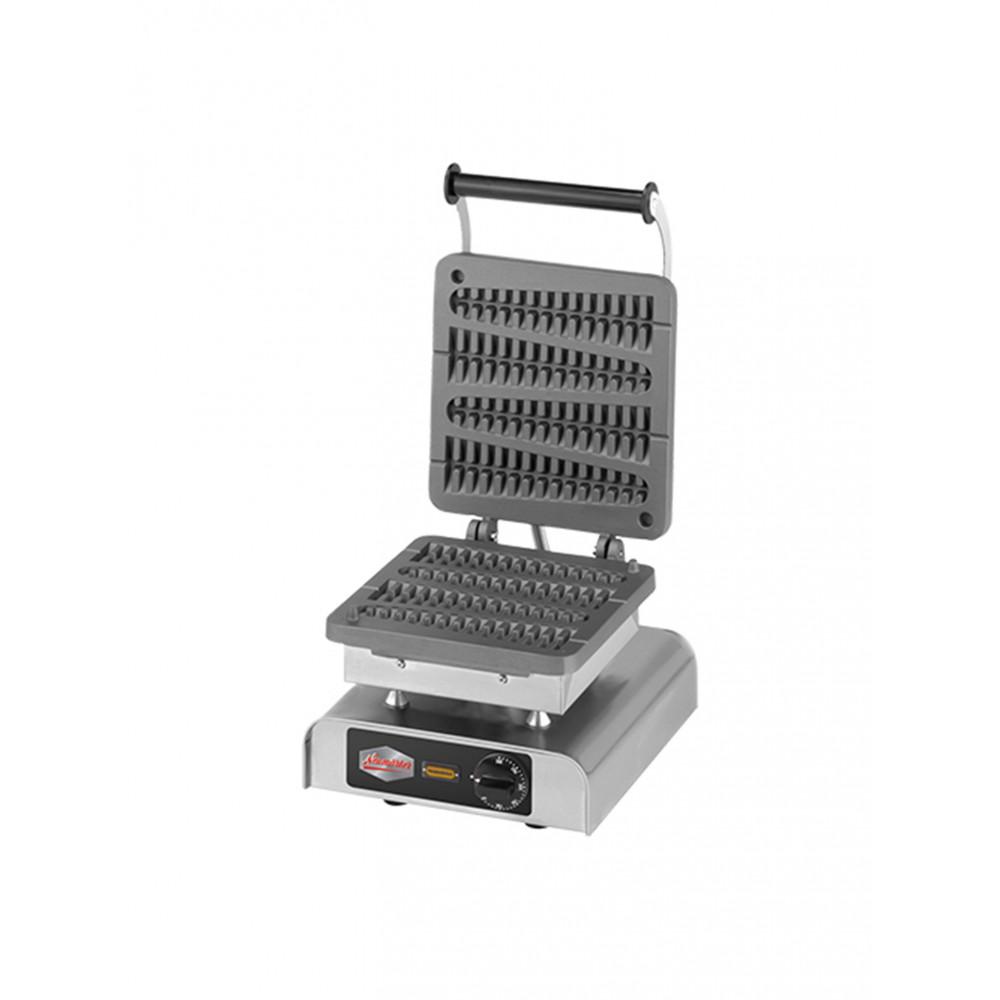 Wafel Bakapparaat - H 25 x 31 x 34 CM - 26 KG - 220-240 V - 2200 W - Gietijzer - +50°C / +300°C - Neumärker - 308172