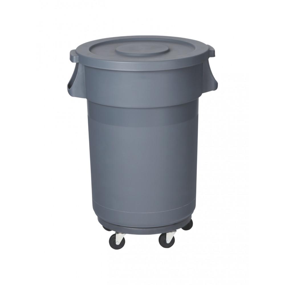 Wielbasis - T.B.V.  Afvalcontainer 80 Liter - Promoline