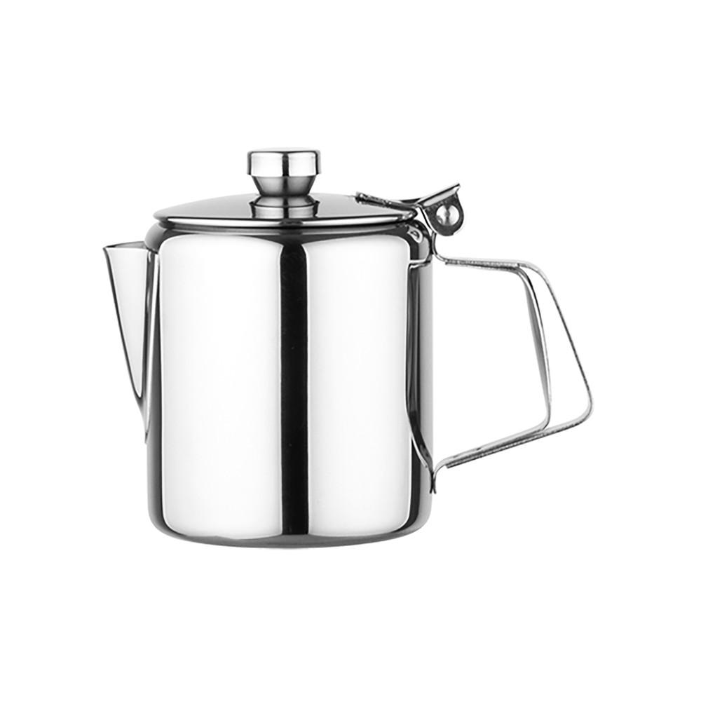 Koffiepot - H 9 CM - 0.14 KG - Ø7 CM - RVS - 0.3 Liter - 861006