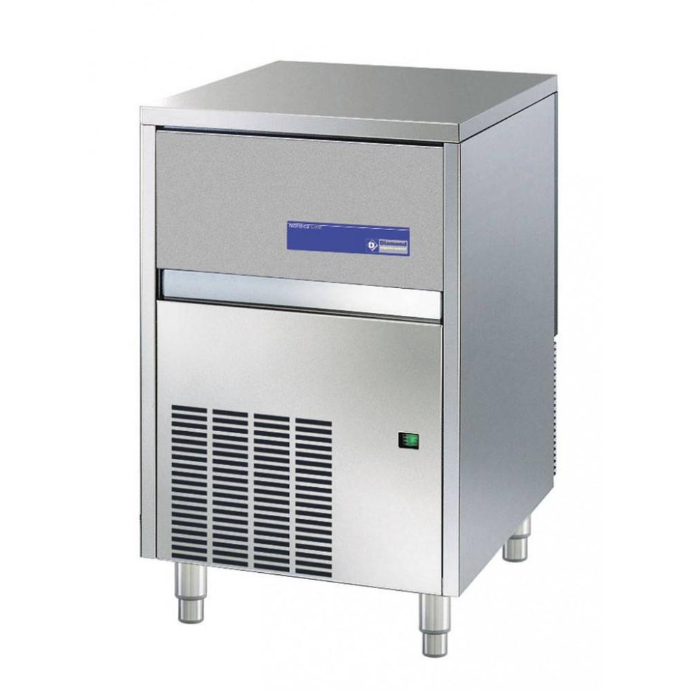 Diamond 47 kg / 24u - Volle ijsblokjes - Luchtgekoeld - RVS uitvoering | Volle ijsblokjesmachine